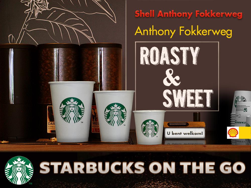 Shell-Anthony Fokkerweg-Starbucks-on-the-go